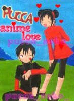 pucca anime love by puccanekopink