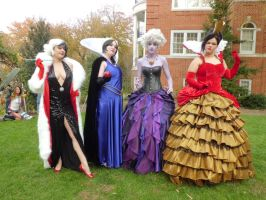 AnimeUSA 2012 - Disney Villains by LadyduLac