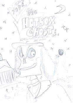 Hatbox Ghost Comic - Cover Art by ScroogeMacDuck