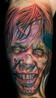 regan from the exorcist by tat2istcecil
