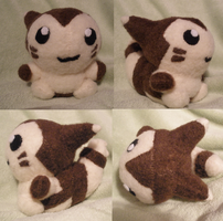 Furret Pokedoll by GlacideaDay