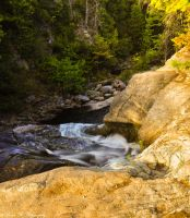 The Gorge at Laverty Falls by Brian-B-Photography