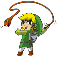 ZELDA ITEMS COLLAB - Whip by luigipanda