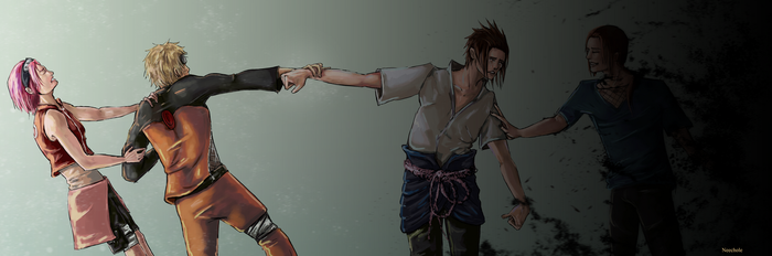 Dragging Sasuke out of the dark... by Neechole