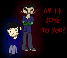'am I a JOKE to you?' by Ask-horseman-Death