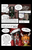 Hellsing Ultimate - Alucard Walk - Happy Christmas by MaXedCats