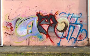 Dios es Amor (GOD IS LOVE) Graffiti Abast by Gsalva