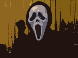 GHOST FACE SCREEM by Darkness-Man