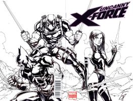 X-Force 01 Sketch Cover by KomicKarl