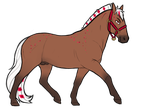 1745 RRS Candy Cane Mountain by Cass-EX