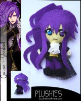 Plushies Gakupo VOCALOID by Phadme