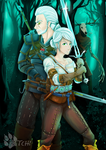 The Witcher by lepatchi