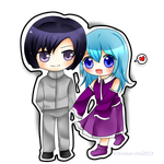 Comm: Ken and Kiko Ichijouji from Roslue-chie by ProjectANGEL101