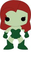 Poison Ivy - POP Villains Style by POPPED-UP