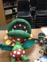 Petey Piranha and Mini by bookchick6