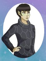 fem!spock by spanabanana