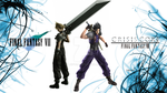 Cloud Strife and Zack Fair Wallpaper by tjevo9
