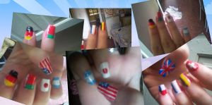 International Nails by uutopicaa