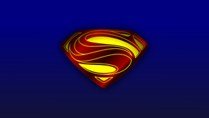 Man of Steel Emblem Wallpaper by Pegbeard
