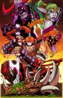 Shattered Realm GN cvr Colored by DamageArts