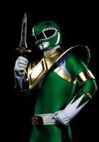 Green ranger/ Dragon Ranger Cosplay by dekamexican