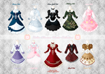 Loli Dresses Winter Collection by Neko-Vi