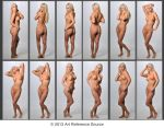 Charlie 12 Full Length Nudes Stock Comm Use OK by ArtReferenceSource