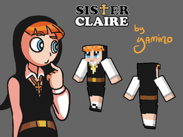 Sister Claire Minecraft Skin by Yamino