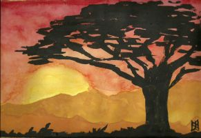 Lion King Landscape by ashkara2001