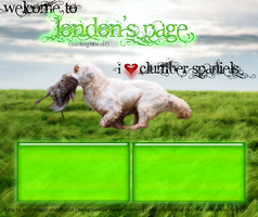I love clumber spaniels layout by missy-midnight