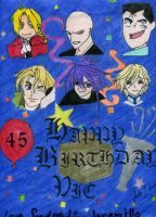 Happy Birthday Vic Mignogna by TaraOfKuruEruna