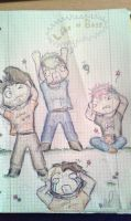 Jacksepticeye , Mark and the Game Grumps by CrazyPanthery