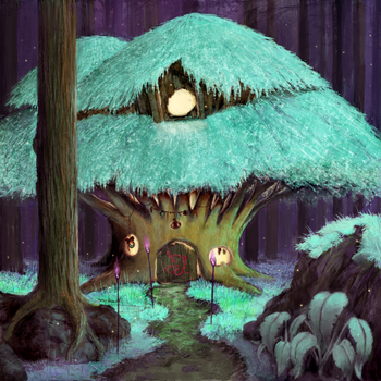Tree Shack by Poniker