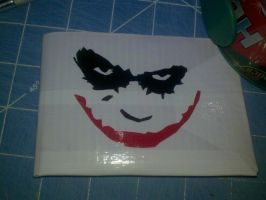 Joker Duct tape wallet by Fairygirl1031