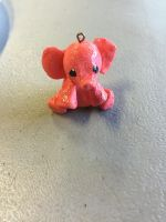 Polymer clay elephant by WolfgirlinLB
