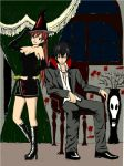 Gray and Erza Halloween by mystic-pUlse