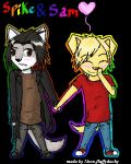sam and spike 2 by neon-fluffyducky