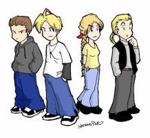 Final Fantasy is in the HOOD. by natey