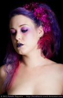 Purple Faerie III by fetishfaerie-stock