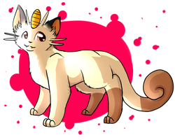 Meowth by jenny96ist