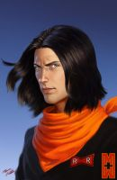 Android 17 by SchneeKatze09