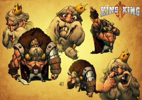 KING - NEW Project by marvelmania