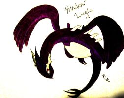 Shadow Lugia by Raven-Shinda