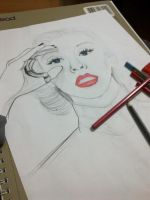 Christina Aguilera Work by Suyesil