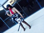 Attack on Titan:Mikasa cosplay by tsukiumi