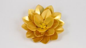 Chainmaille Lotus - Gold by McRobertsChainmaille
