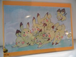 Pikatumble Art Card by ditto9