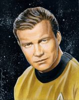 William Shatner AKA James T. K by AlexBuechel