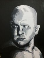 Fedor Emelianenko painting by Draw4fun2