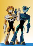 The Jet Twins by LunaWing